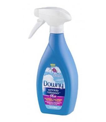 Downy Wrinkle Releaser Plus, Light Fresh Scent, 16.9 Fl. Oz. New Trigger Spray Bottle, Wrinkle Remover + Odor Eliminator + Fabric Refresher + Static