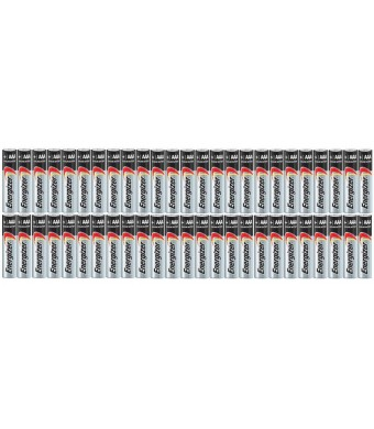 Energizer AAA Max Alkaline E92 Batteries Made in USA - Expiration 12/2024 or later - 50 count