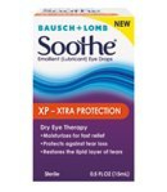 Soothe XP Emollient Lubricant Eye Drops, 0.5 Fluid Ounce