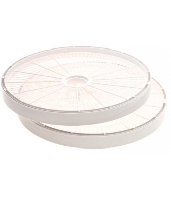 Nesco LT-2W Add-A-Tray for FD-60 Dehydrator, Set of 2