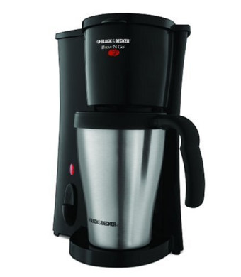 Black and Decker DCM18S Brew 'n Go Personal Coffeemaker with Travel Mug