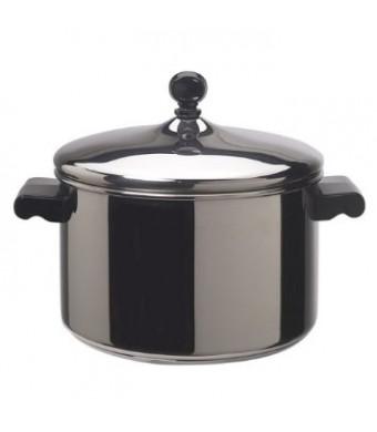 Farberware Classic Stainless Steel 4-Quart Covered Saucepot