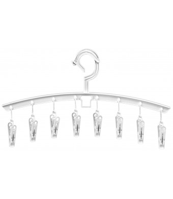 Whitmor 6027-533 Designer Plastic Clip and Drip Add-On Hangers, Set of 3