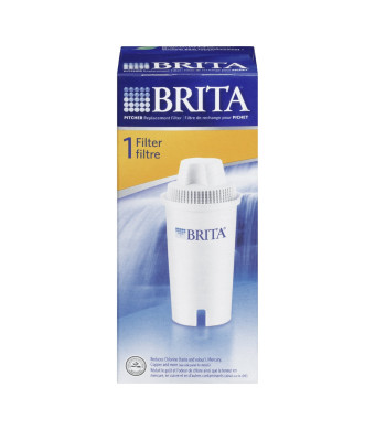 Brita Water Filter Pitcher Replacement Filters, 1 Count