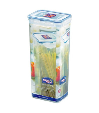 Lock and Lock Pasta Box Food Container, Tall, 8.3-Cup, 67-Fluid Ounces