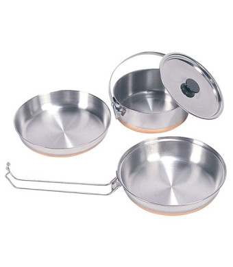 Stansport 360 Stainless Steel Mess Kit