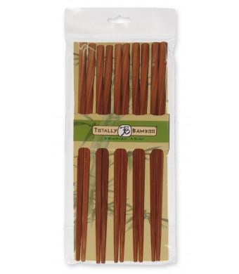 Totally Bamboo Twist Chopsticks, Set of 5 pairs