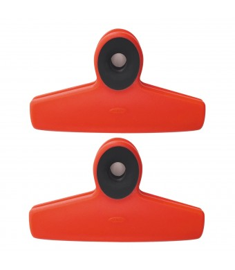 OXO Good Grips Red Bag Clips, Set of 2