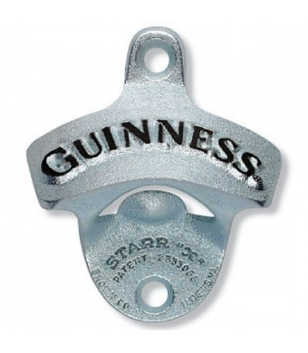 Arthur Guinness Extra Stout Irish Wall Mounted Bar Pub Beer Bottle Opener