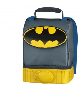 Batman Dual-Compartment Lunch Kit by Thermos Insulated (1, A)