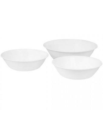 Corelle Livingware Winter Frost White 3-Piece Serve Set