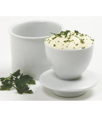 Norpro 291A White Butter Keeper, Porcelain