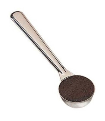 Espresso Supply Stainless Steel Doser Scoop, 1-Ounce