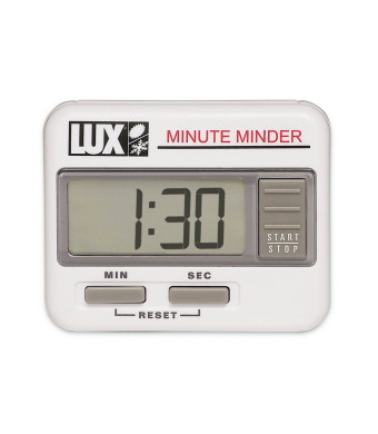 Lux CU100 Digital Count Up/Down Timer, White