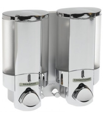 Better Living AVIVA Two Chamber Dispenser, Chrome