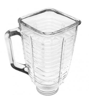 Oster 5-Cup Glass Square Top Blender Jar