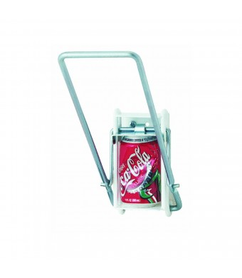 "Easy Crush Can Crusher For Aluminum Cans Wall Mount 5.5""  L X 3.25""  W X 15.25""  H"