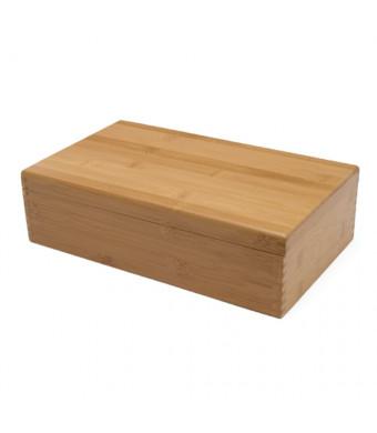 Lipper International Bamboo Tea Storage Box