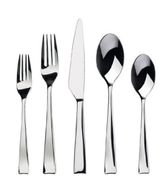 Gourmet Settings Strand 20-Piece Flatware Set, Service for 4