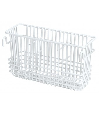 "Utensil Drying Rack - 3 Compartment (White) (5.5"" H x 8.5"" W x 2"" D) (WHITE, 1)"