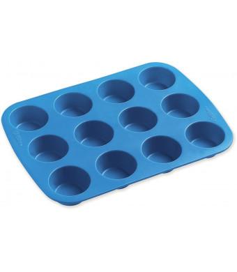 Wilton 2105-4829 Easy Flex Silicone 12-Cup Mini Muffin