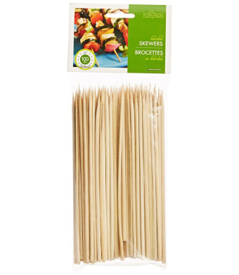 Fox Run Brands Bamboo Skewers, 6-Inch ( 100 Pieces )