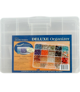 Deluxe Bead Organizer - 20 Compartments - 10 x 7 inches