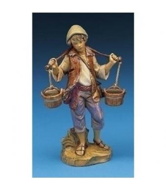 Fontanini Noah With Water Bucket Figurine
