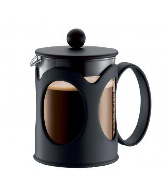 Bodum New Kenya 17-Ounce Coffee Press, Black