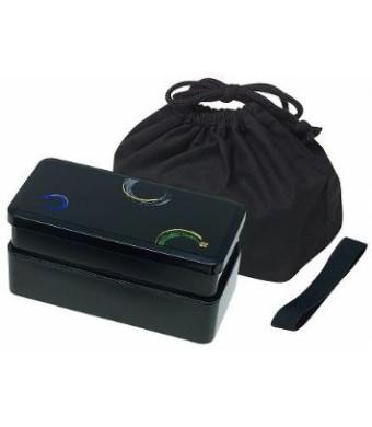 KLS9 Men's Lunch Bento Box Double with Bag