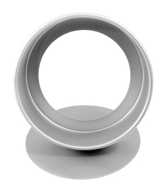 Fat Daddio's Anodized Aluminum Round Cheesecake Pan with Removable Bottom, 9 Inch x 3 Inch