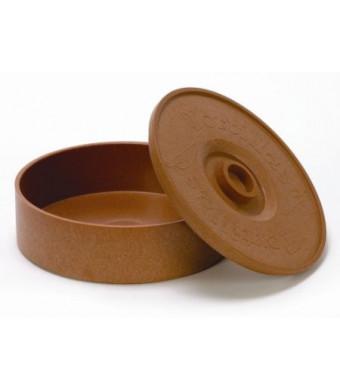 IMUSA, MEXI-1000-TORTW, Tortilla Warmer, Brick Color, 8.5-Inches