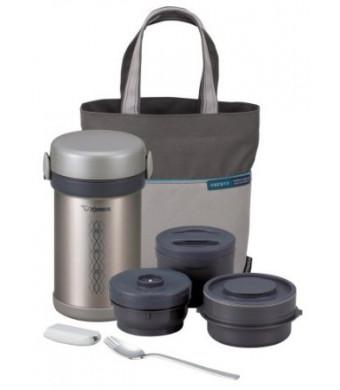 Zojirushi SL-NCE09 Ms. Bento Stainless-Steel Vacuum Lunch Jar