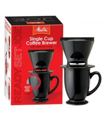 Melitta Ready Set Joe/Mug 64010 Coffee Makers Speciality, Black