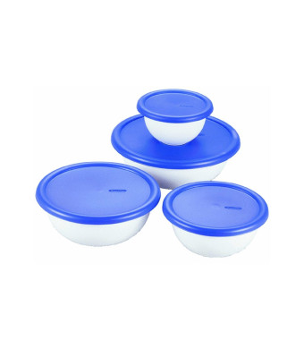 Sterilite Corp. 07479406 8-Piece Covered Bowl Set