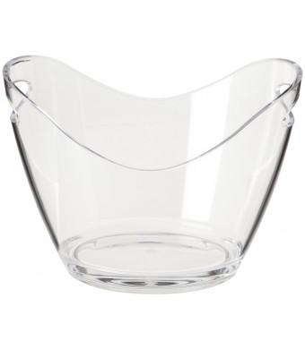 Prodyne G-2-C Two Bottle Bucket, Clear