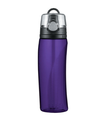 Thermos Intak Hydration Bottle with Meter, Purple