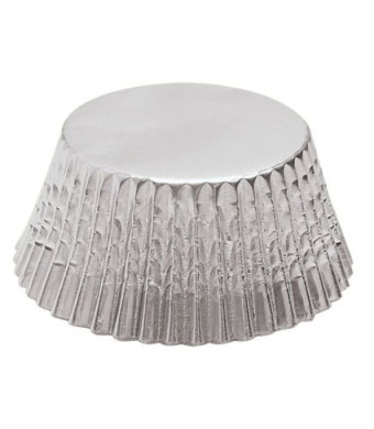 Fox Run Silver Foil Standard Bake Cups, 32 Cups