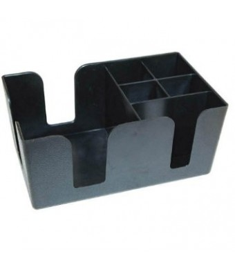 Winco BC-6 Bar Caddy with 6 Compartments
