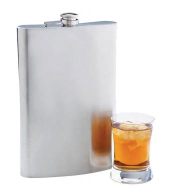 Maxam 64 oz Jumbo Stainless Steel Flask