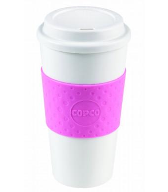 Copco 2510-9920 Acadia Travel Mug, 16-Ounce, Bubble Gum