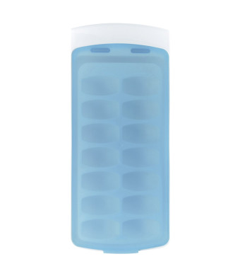 OXO Good Grips No Spill Ice Cube Tray, Blue