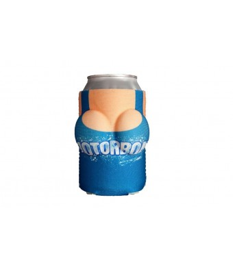 """Boobzie Can Coozie/Cover. Can Cooler """"Motorboat""""  Your Drink Never Looked So Good"""