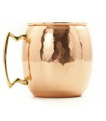 Old Dutch International, Purveyors of the ORIGINAL MOSCOW MULE MUG, 16-Ounce Solid Copper Hammered Moscow Mule Mug