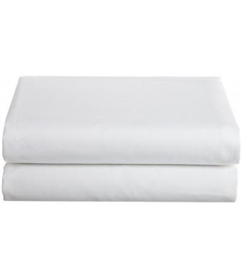 Cathay Home Hospitality Luxury Soft Fitted Sheet of 100-Percent Microfiber Construction, Queen Size, White Color