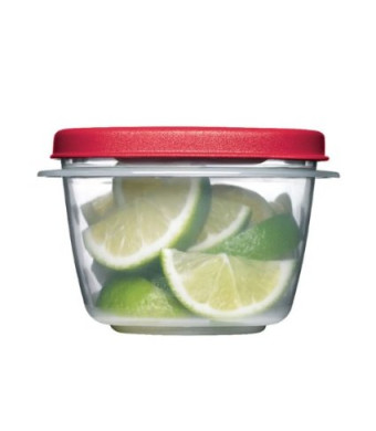 Rubbermaid Easy Find Lids Square 2-Cup Food Storage Container (Pack of 4)