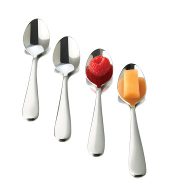 Libbey Just Tasting Appetizer Spoon, 12-Piece
