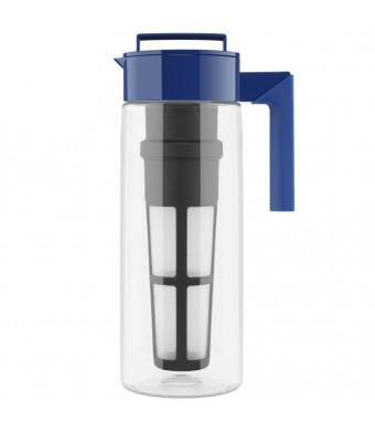 Takeya Flash Chill Tea Maker (2 Quarts, Blueberry)