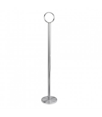 """New Star 12 Pc Table Number Holder Table Card Holder Table Number Stand Place Card Holder 12"""""""