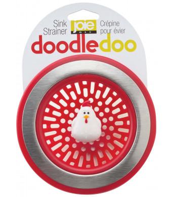 Joie Doodle Doo Kitchen Sink Strainer Basket, Rooster, 4.5-inch